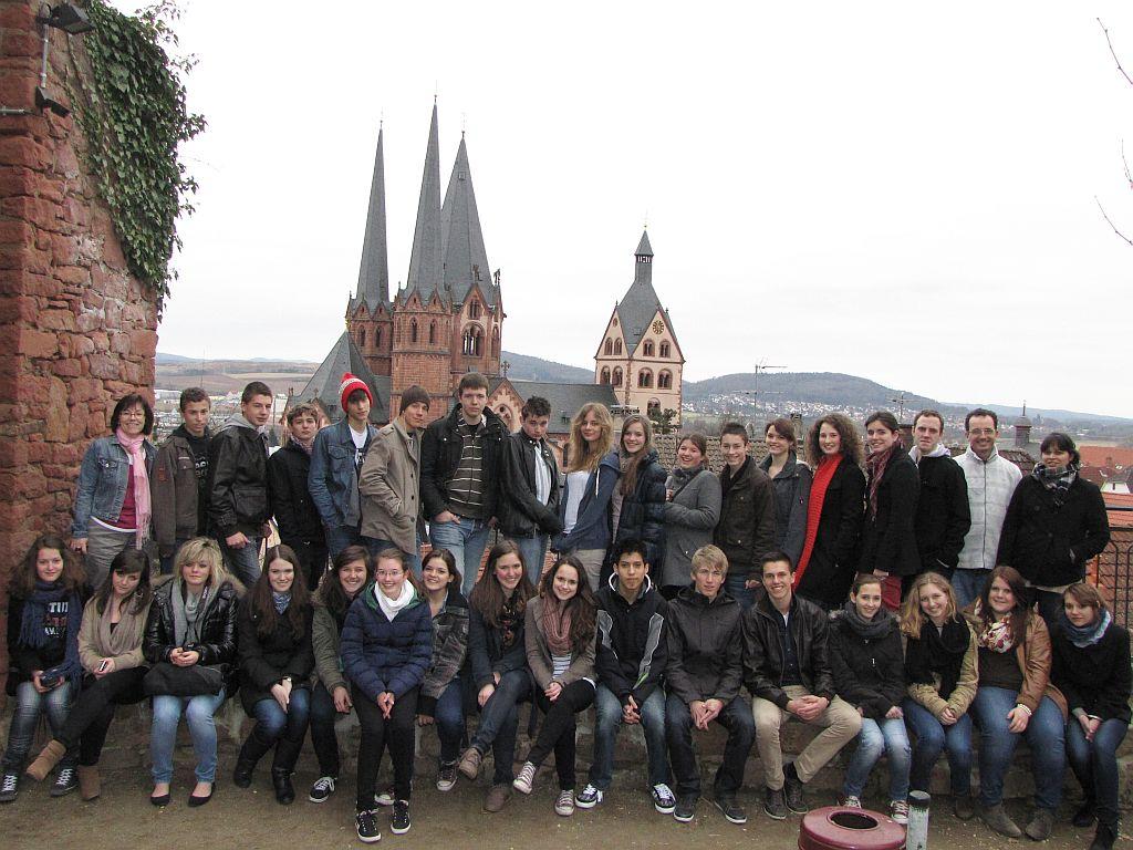 Russische Schüler aus Istra zu Besuch am GGG