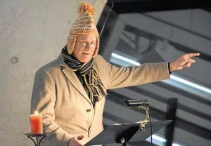 Jörg Höller schlüpft zur Finanzierung der Abschlussklassenfahrt in anspruchsvolle und ungewöhnliche Rollen. Foto: Mähler