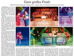 """Quelle: """"Gelnhäuser Tageblatt"""" 23.11.2015"""