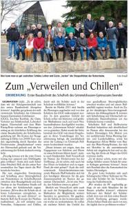 Gelnhäuser Tageblatt vom 23.3.2016