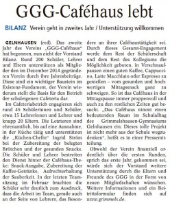 """Quelle: """"Gelnhäuser Tageblatt"""" vom 16.03.16"""